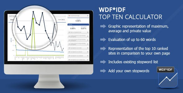 Wordpress WDF*IDF SEO Calculator