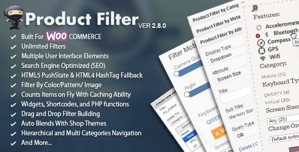 WooCommerce AJAX Product Filter - WordPress Plugin        Nulled