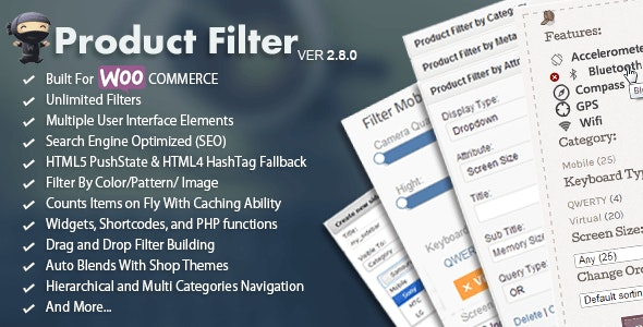 WooCommerce AJAX Product Filter - WordPress Plugin - CodeCanyon Item for Sale