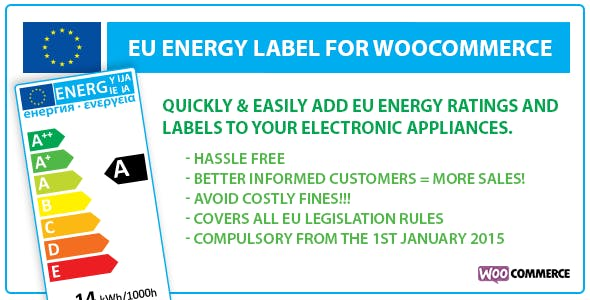 EU Energy Label for WooCommerce