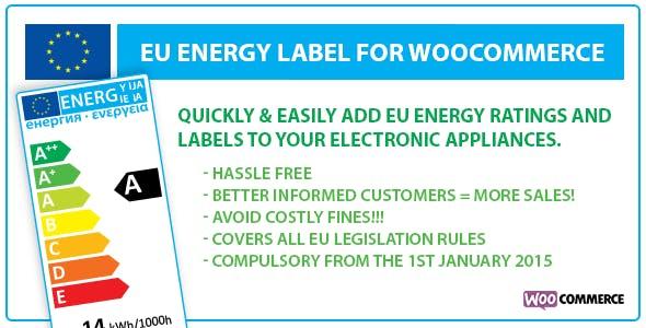 EU Energy Label for WooCommerce
