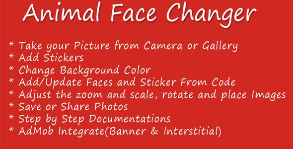 Animal Face Changer