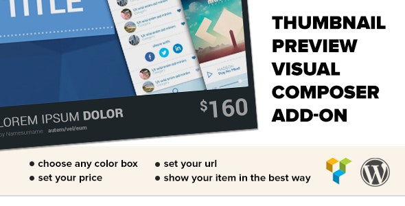 Thumbnail Preview and Item Grabber WP Plugin - CodeCanyon Item for Sale