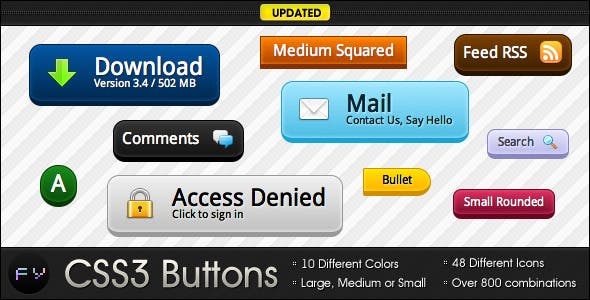CSS3 Buttons - Simple and Awesome