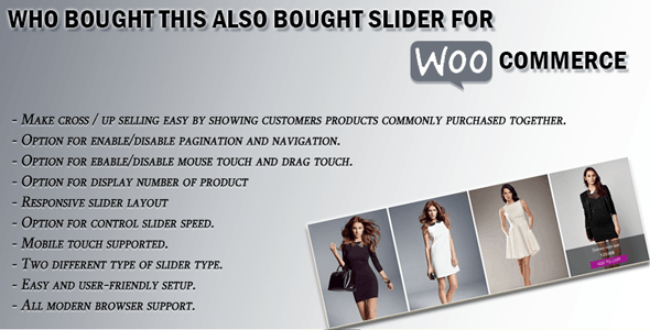 Who Bought This Also Bought Slider For Woocommerce - CodeCanyon Item for Sale
