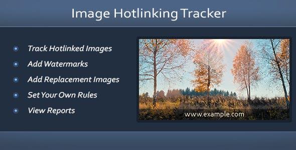 Image Hotlinking Tracker