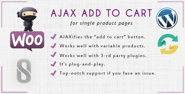 WooCommerce Ajax Add to Cart - CodeCanyon Item for Sale