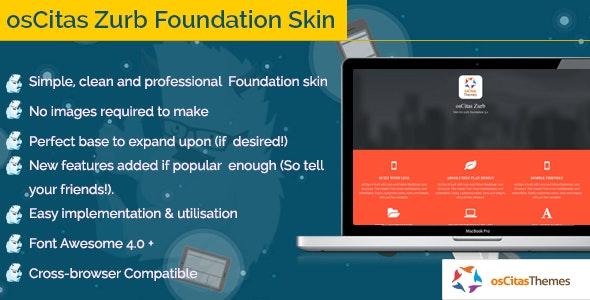osCitas - Zurb Foundation Skin - CodeCanyon Item for Sale