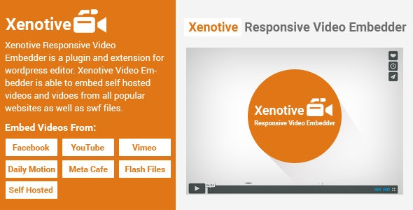 Xenotive Responsive Video Embedder - CodeCanyon Item for Sale