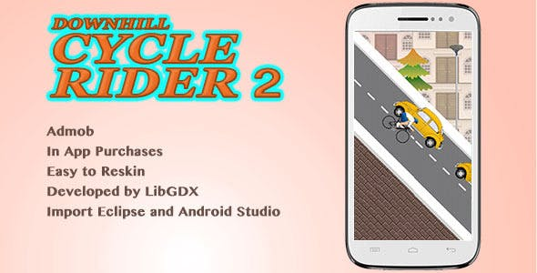 Downhill Cycle Riders 2