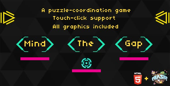 Mind the Gap: HTML5 Puzzle game