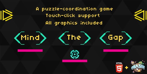 Mind the Gap: HTML5 Puzzle game - CodeCanyon Item for Sale
