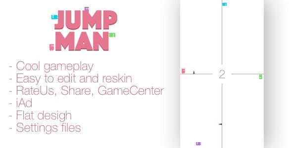 Jump Man - CodeCanyon Item for Sale