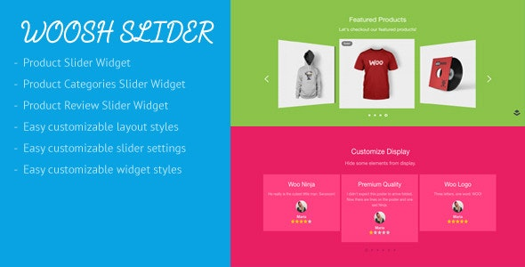 Woosh - WooCommerce Slider for Layers Extension - CodeCanyon Item for Sale
