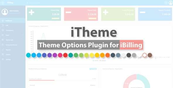 iTheme - Theme Options Plugin for iBilling - CodeCanyon Item for Sale