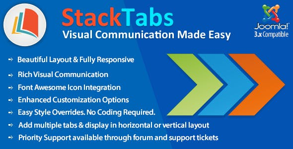 StackTabs for Joomla