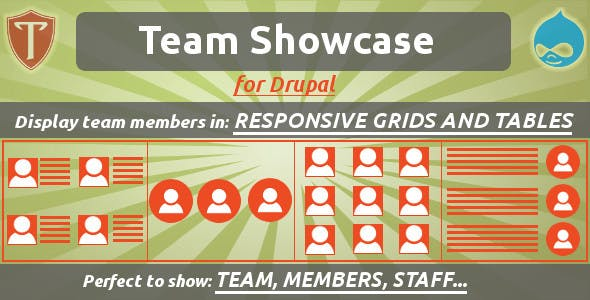 Team Showcase for Drupal