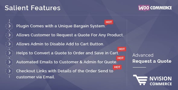 Woocommerce Advanced Request a Quote