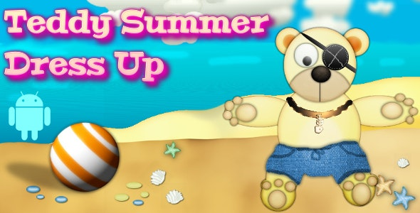 Teddy Summer Dress-Up (Mobile) - CodeCanyon Item for Sale