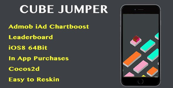 Cube Jumper iOS