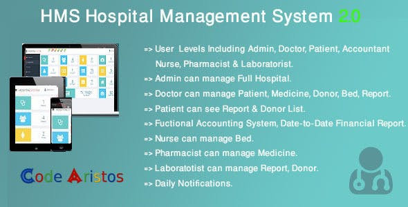 Hospital Care - Advanced Hospital / Clinic / Medical Center Management System