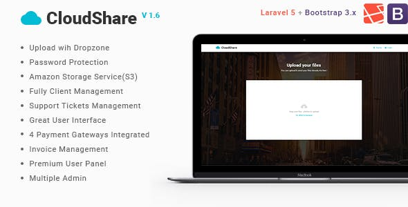 CloudShare-Online File Sharing Application