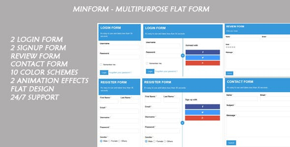 Minform - Multipurpose Flat Form