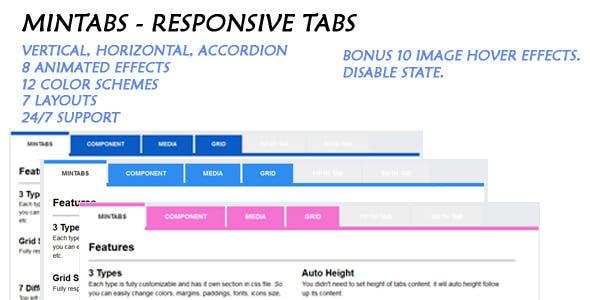 Mintabs - Responsive Tabs