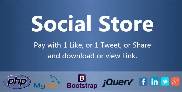 Social Store - Pay with Action in Social Network