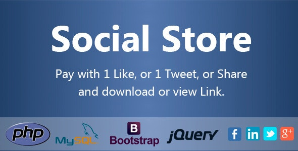 Social Store - Pay with Action in Social Network - CodeCanyon Item for Sale