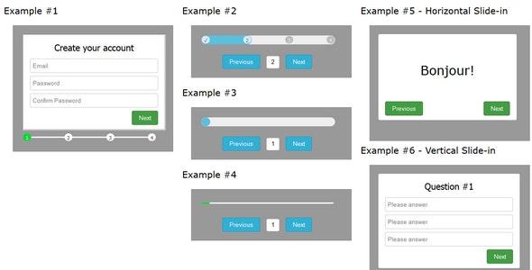 Angular multi-Step Page Animation - CodeCanyon Item for Sale