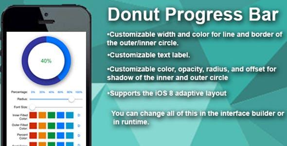 IOS Donut Progress Bar