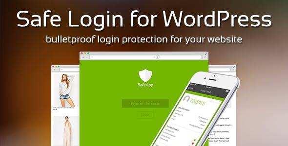 Safe Login for Wordpress - Premium Security Plugin