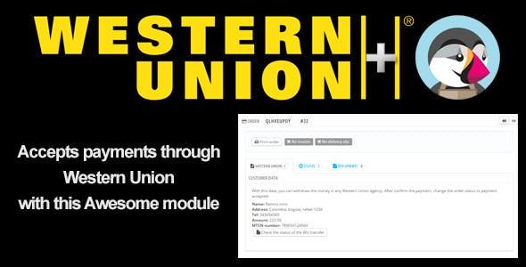 WesternUnion+ PrestaShop Module