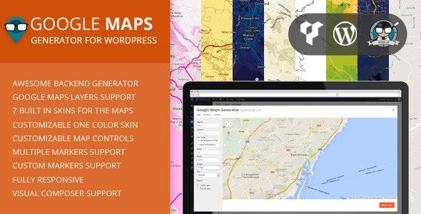 Google Maps Generator for WordPress