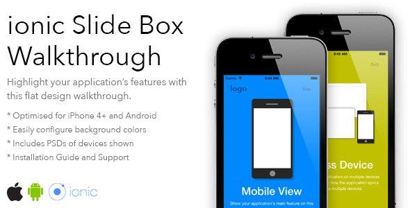 ionic Slide Box Walkthrough - CodeCanyon Item for Sale