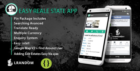 Easy Real Estate App - come with admin panel - CodeCanyon Item for Sale