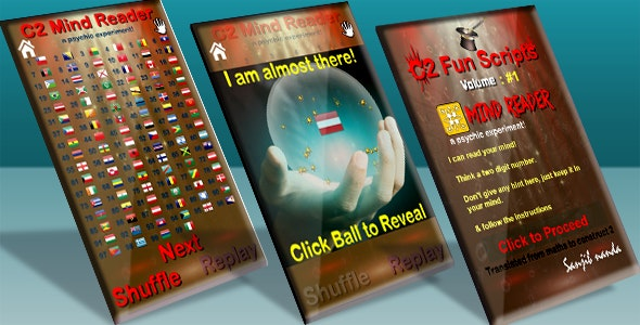 C2 Fun Scripts : Mind Reader - CodeCanyon Item for Sale