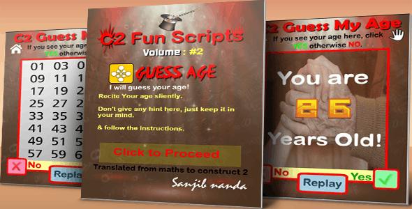 C2 Fun Scripts: Guess My Age
