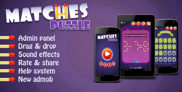 Matches Puzzle - Android Game
