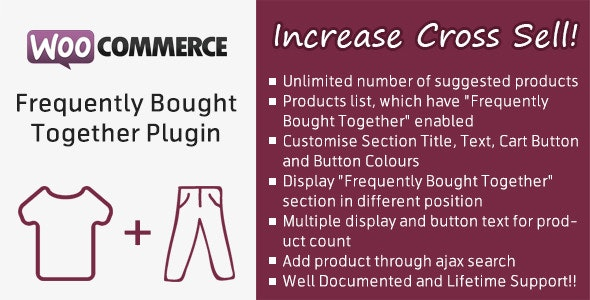 WooCommerce Frequently Bought Together Plugin - CodeCanyon Item for Sale