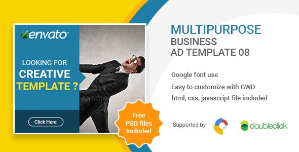 Business | HTML5 Google Banner Ad 08 - CodeCanyon Item for Sale