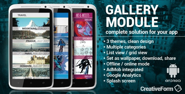 Gallery module with AdMob/Analytics - CodeCanyon Item for Sale