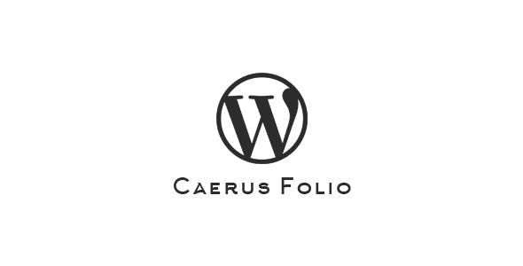 Caerus Folio | WordPress Plugin