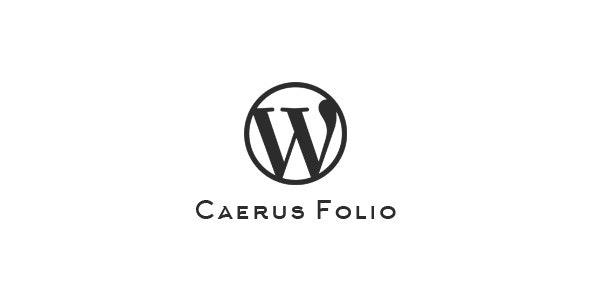 Caerus Folio   WordPress Plugin - CodeCanyon Item for Sale