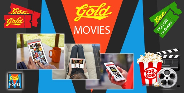 Gold MOVIES - CodeCanyon Item for Sale