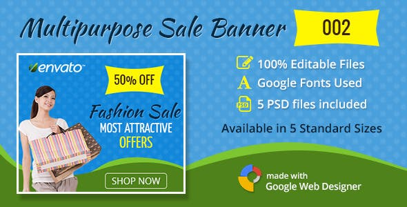 Multipurpose Sale Banner 002