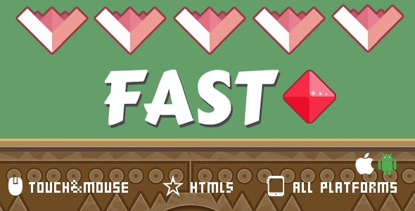 Fast-Html5 mobile game - CodeCanyon Item for Sale