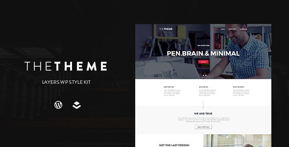 THETHEME | Layers WP Style Kit - CodeCanyon Item for Sale