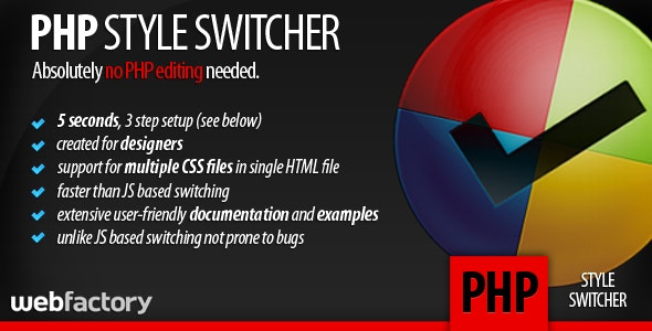 CSS style switcher - CodeCanyon Item for Sale